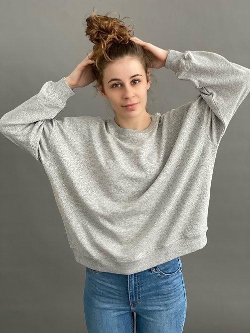 Artikel 10120  Sweatshirt mit Rundhals