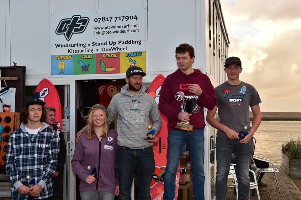 Starboard riders take 1st-2nd in 2018 UKWA British Slalom Championships