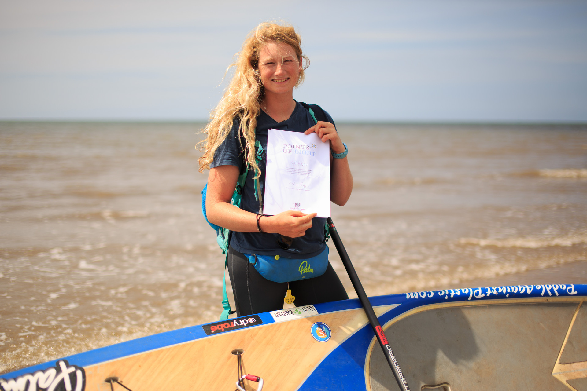 Team Rider Recognised By The Prime Minister For Her Incredible Anti-Plastic Efforts