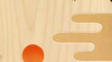 梟の王            松の板 アクリル絵の具 色鉛筆