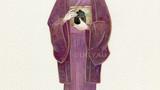 歴史に輝くなでしこ大図鑑挿絵 (金の星社 刊) -御船千鶴子-            画用紙 アクリル絵の具 色鉛筆