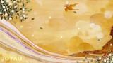 琥珀 -ミュージシャン望月俊 アルバムジャケット用イラスト-            松の板 アクリル絵の具 色鉛筆