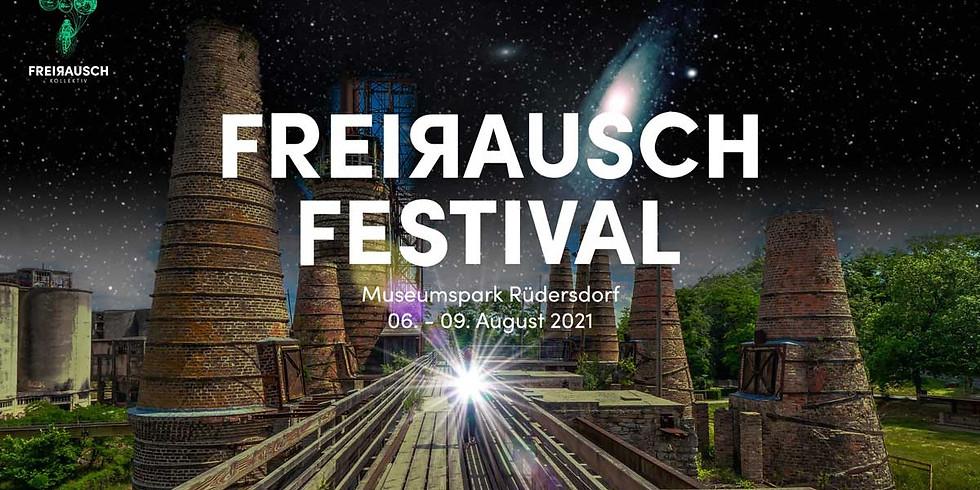 FreiRausch Festival im Museumspark bei Berlin in Rüdersdorf