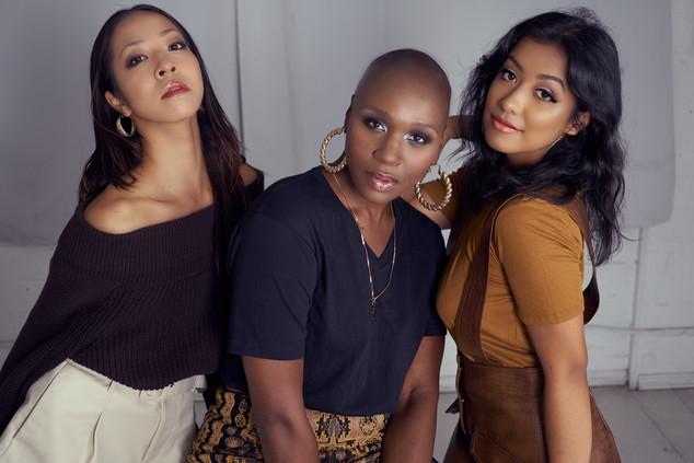 The Shades of Beauty. Maki, Mesha, & Kim. Los Angeles 2019.