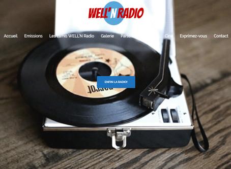 Entrée en programmation sur la radio Well N Radio