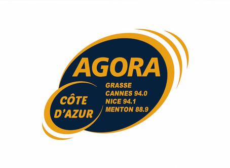Entrée en programmation du titre TIME sur la radio Agora FM