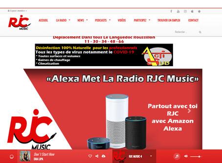 Entrée en programmation radio sur RJCMUSIC .