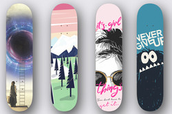 Custom Skateboard decks