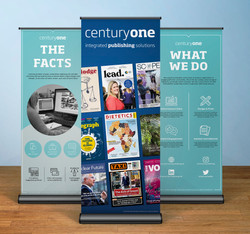 Century One Rollup banner concepts