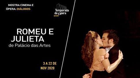 """Romeu e Julieta"", de Palácio das Artes"