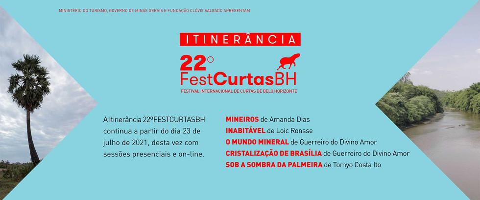 Itinerância 22º FestCurtasBH