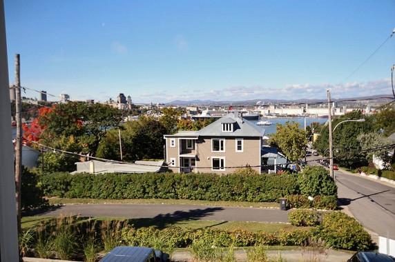 Gîte Kezako vue sur Québec