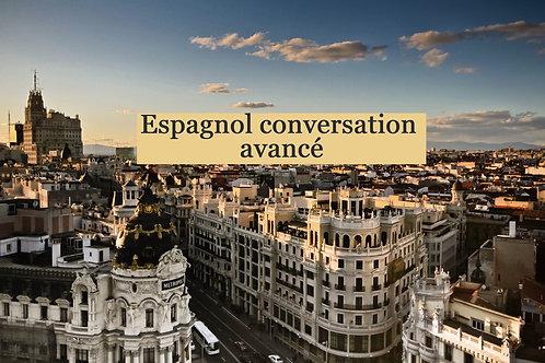 Espagnol conversation avancé
