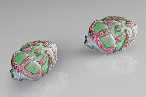 Shield Bug Earrings