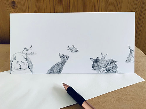 Limited Edition Bunny Bunch Greeting Cards