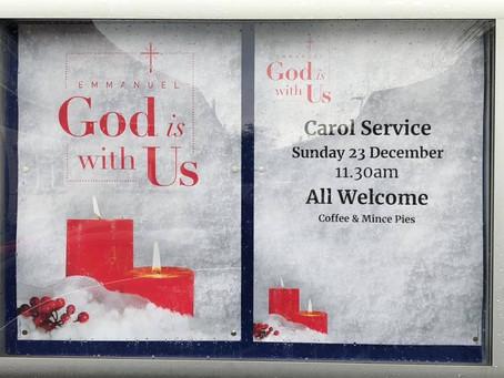 Edgewell Christmas Carol Service