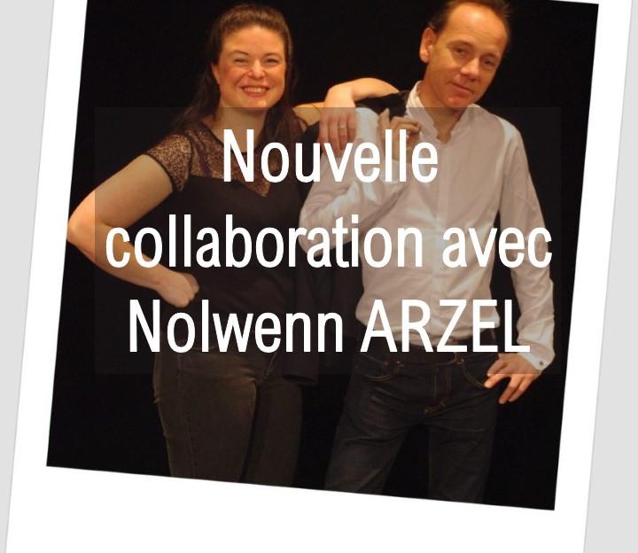 Nouvelle collaboration avec Nolwenn ARZEL