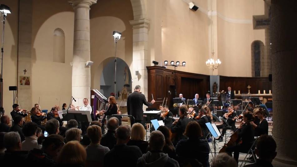 Le Duo Soñj en concert avec l'orchestre symphonique de Bretagne le 2 juillet 2016 à Dinard