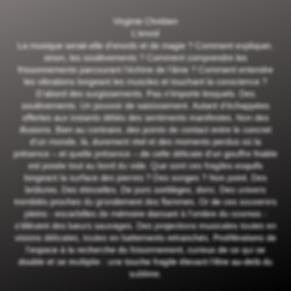 """""""ils ecrivent sur les musiques de Yann CREPIN"""