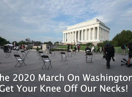 2020 March On Washington - Please like and share.  Become a Tylerman Films LLC member.  Andrew Tyler