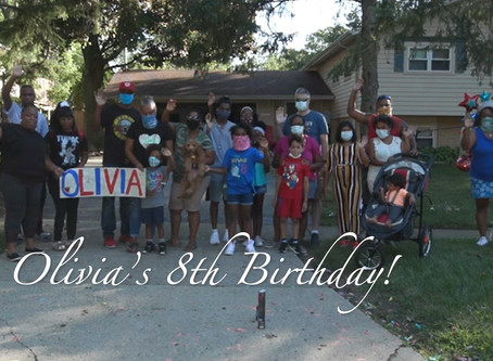 Olivia's Birthday Month - Go LEO!