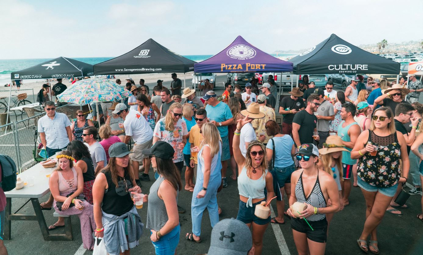 Beer Garden at SaltDog Classic.JPG