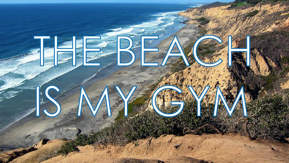 San Diego Beach Workout