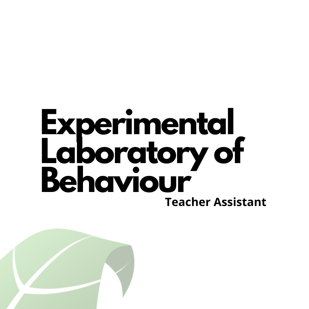 Experimental Laboratory of Behaviour T.A