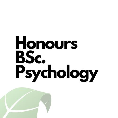 Honour Bachelor Psychology