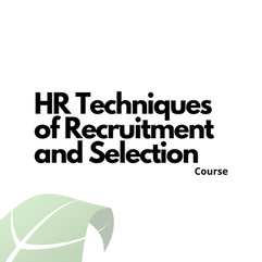 HR Techniques of Recruitment and Selection