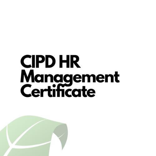 CIPD HR Management Certificate