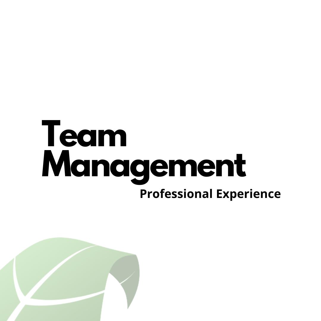 Team Managment