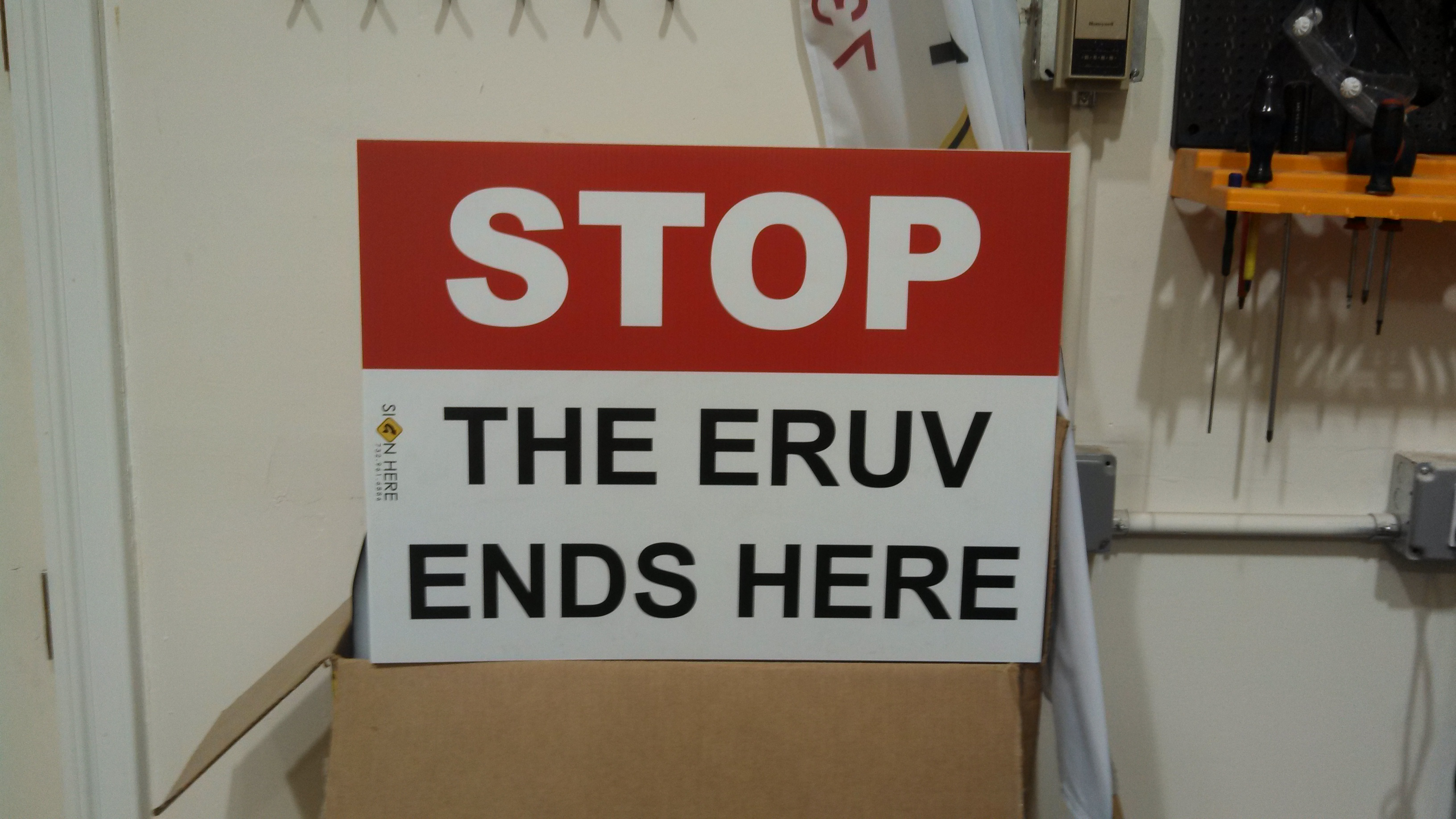 Eruv Sign