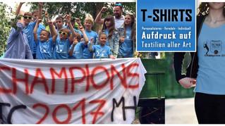 T-Shirts bedrucken - Textildruckberatung