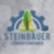 Logodesign fürSteinbauer Lohnunternehmen