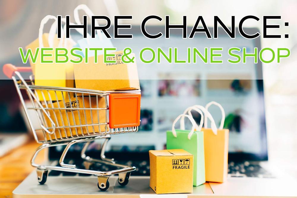 Onlineshop, Webseite, wir programmieren Ihren Webshop, Lieferung