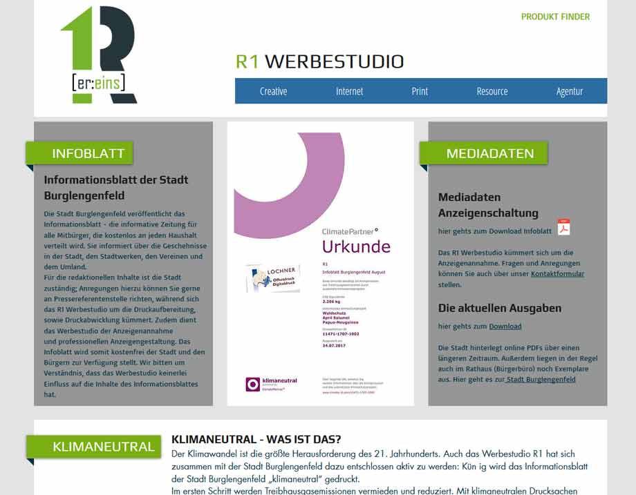 Infoblatt Burglengenfeld, Mitteilungsblatt, Informationsblatt