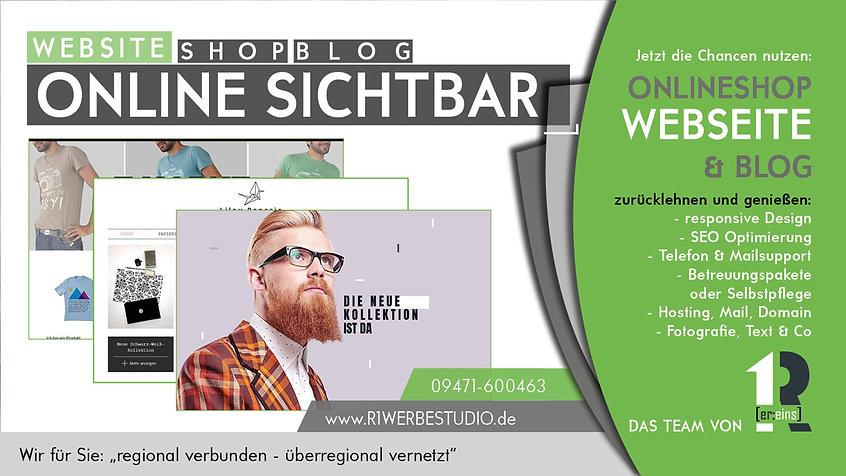 Webseite programmiere, Onlineshop erstellen, Homepage