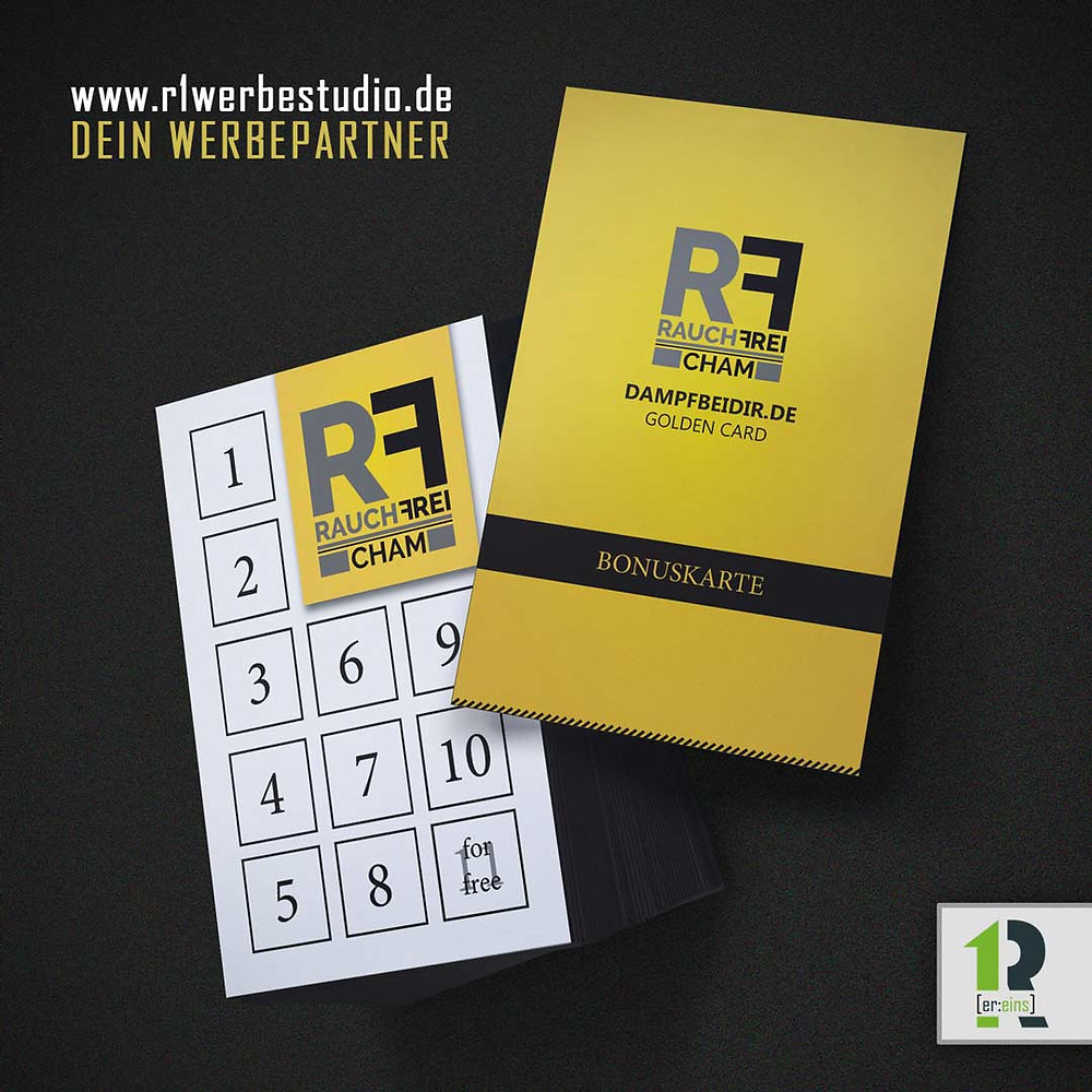 Bonuskarte, Stempelkarte, Rauchfrei Cham
