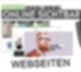 Webseite Homepage Onlineshop erstellen