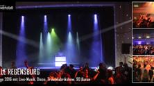 Bühnenshow und Disco bei den Erlebnistagen