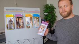 Stadtrat lobt Werbeprojekt des R1 Werbestudios