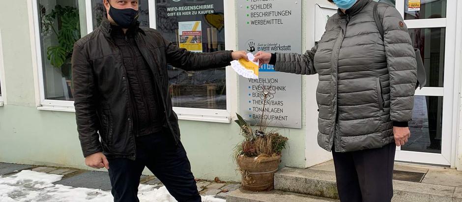 Wenn jemand mit 500 Euro vor der Tür steht