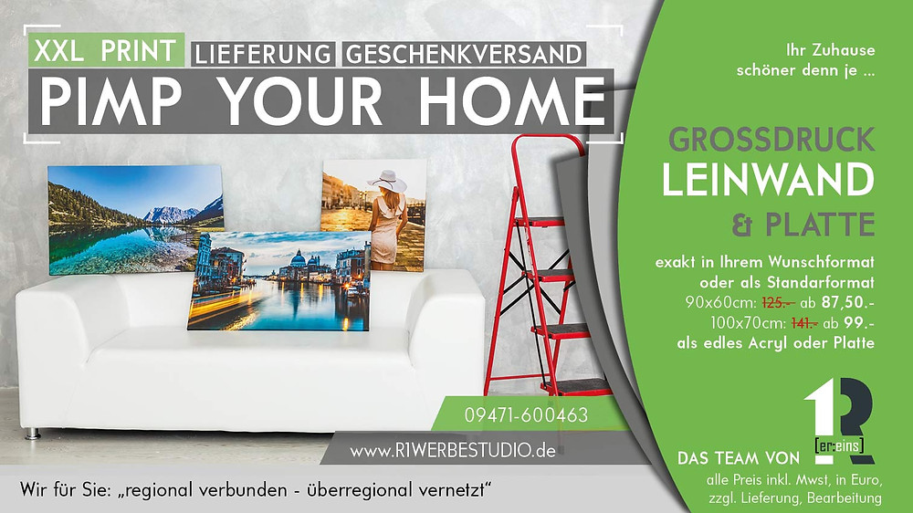 Fotodruck auf Leinwand, Poster, Pimp your home