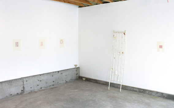 Sentient Sun, 2020. Installation view, works by Lauren Lavery and Mehrnaz Rohbakhsh in view.