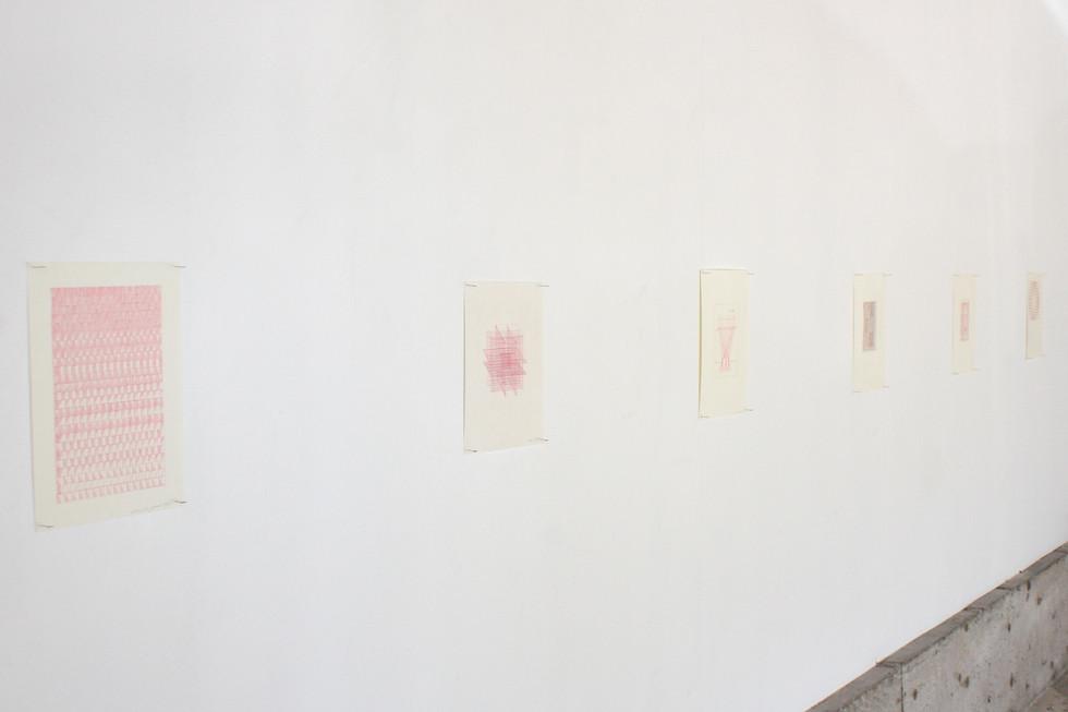 Sentient Sun, 2020. Installation view, works by Mehrnaz Rohbakhsh in view.