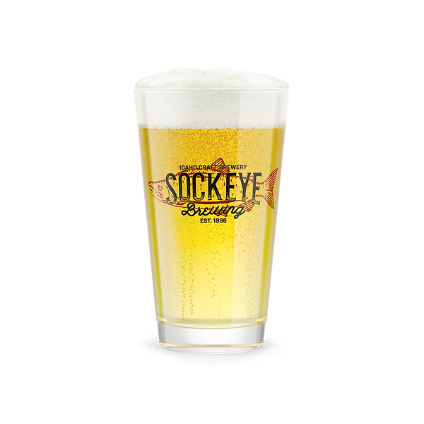 Sockeye Brewing Pint Glass