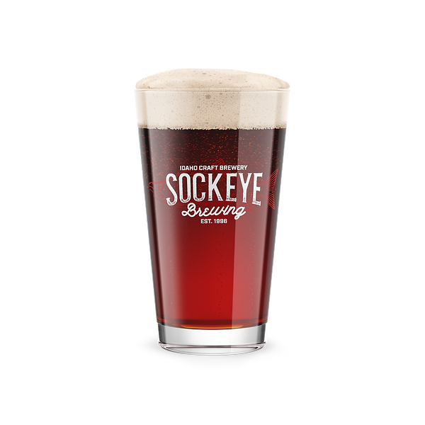 Sockeye Brewing Pint Glas