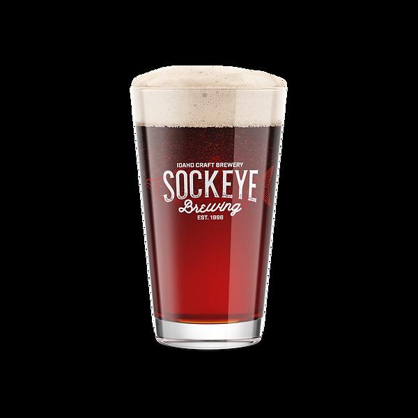 Sockeye Brewing Pint Glass