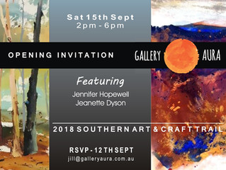 Art Trail Opening Invitation